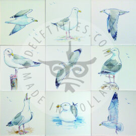 Sea Gull Bird Tiles (HVG)