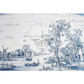 Summer Landscape Mural 6×4 Tiles