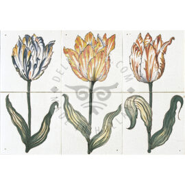Tulips 1×2 Tiles (HT2_g/h/i)