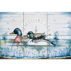 2 Wild Ducks 3×2 Tiles