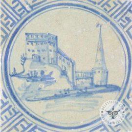 17th Century Landscape Tiles #L7