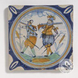 2 Hunter Antique Tiles #PC2