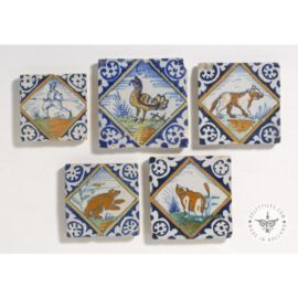 Antique Diamond Animal Tiles #PC3