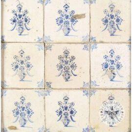 17th Century Flower Pot Tiles #B10