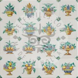 Colorful Fruit Bowl Tiles (TME10)