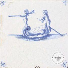 Antique Delft Tile #S11