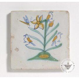 Unique 17th Century Antique  Tile #B18