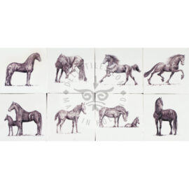 Dutch Horses Tiles (HDP)