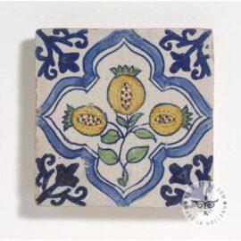 17th Century Antique Fruit Tile #B19