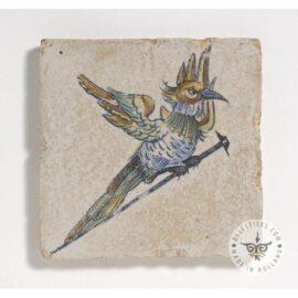 Beautiful Gouda Bird On Nail Tile  #D23