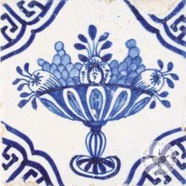 17th Century Delft Blue Fruit Platter #B25