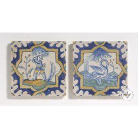 2 Rare Collector Tiles  #PC35