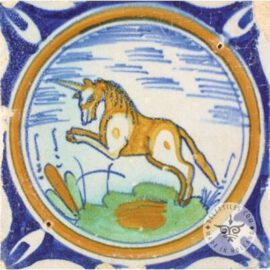 Rare Unicorn Tile  #PC43