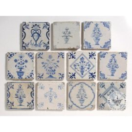 Beautiful Collection 17th Century Tiles #B23