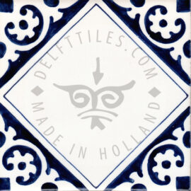 Corner Decorated Tile 12