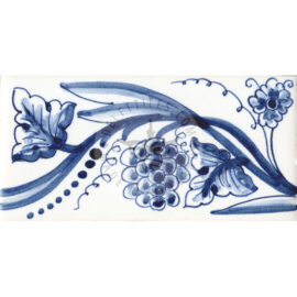 Border Tile 05 – Grapes On Vine