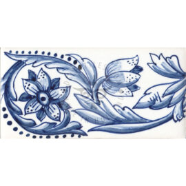 Border Tile 09 – Decorative Flower