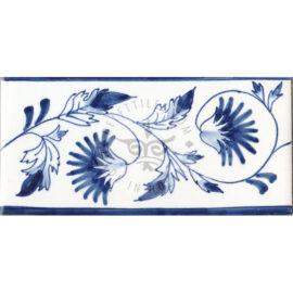 Border Tile 11 – Chrysanthemum
