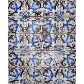 Vintage Dutch Tiles Designs #28